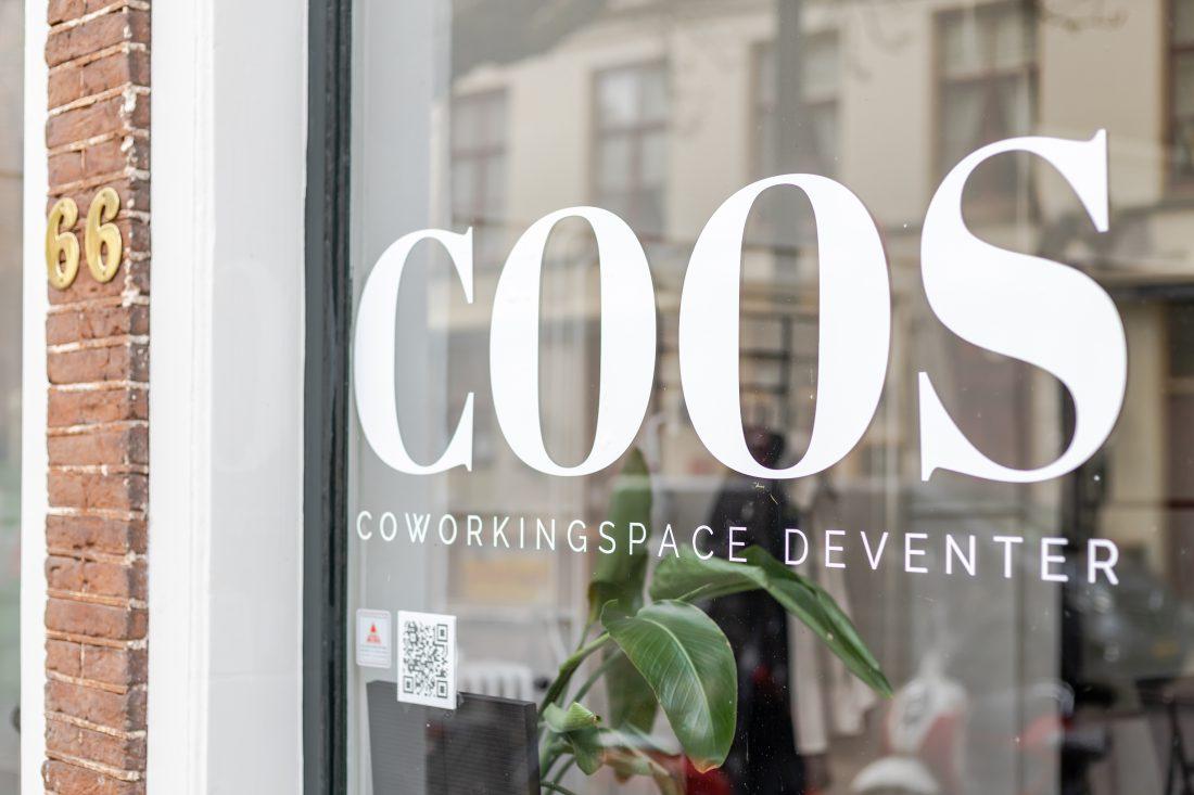 Co-working space Deventer COOS werkplek